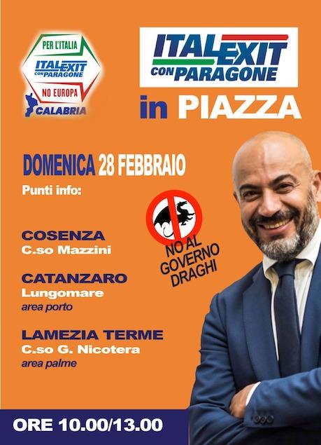 Italexit - Calabria scende in piazza!