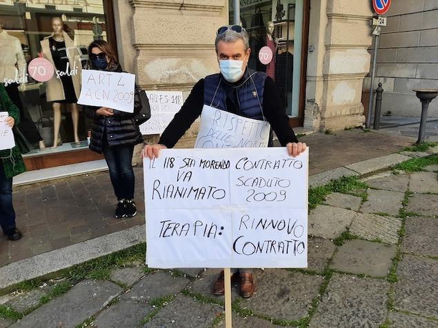 Sanità: Asp Catanzaro toglie indennità, protesta medici 118