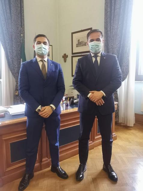 Furgiuele: dal sottosegretario Sasso massima collaborazione per l'istituto Maggiore Perri