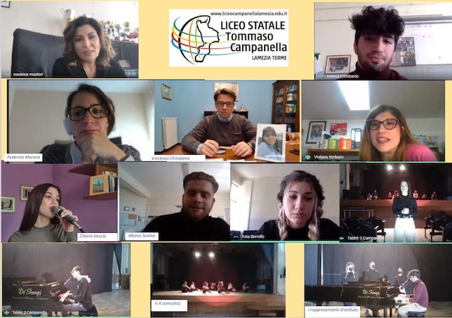 Girl power: assemblea d'istituto al Liceo Campanella in occasione dell'8 marzo