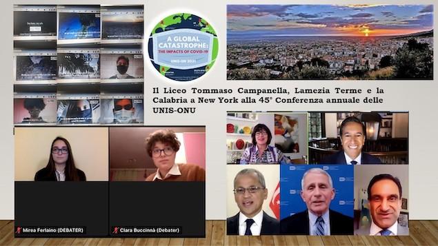 """Il Liceo """"T. Campanella"""" di Lamezia Terme a New York"""