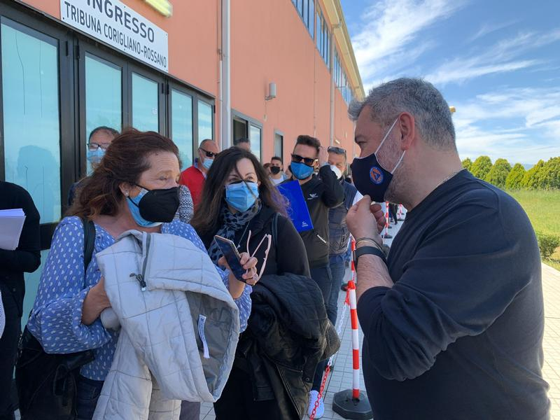 Covid, Spirlì: «Vaccinate 800mila persone in tutta la Calabria»