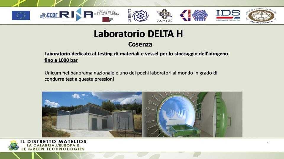 Distretto Matelios: transizione ecologica, la Calabria punti sull'idrogeno