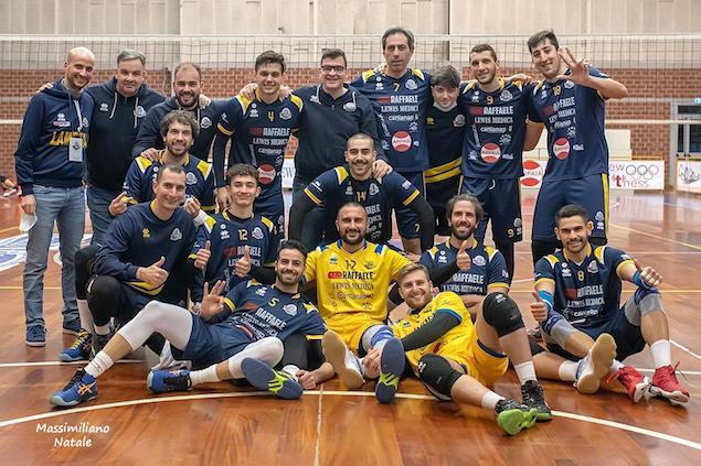 La Raffaele Lamezia batte la Volley Catania e approda ai quarti