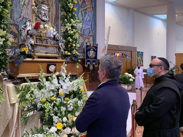 San Francesco di Paola, Spirlì: «Ci aiuti a superare la pandemia»