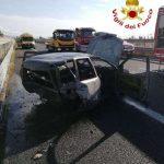 Tragico incidente stradale sulla A2. Deceduta una persona