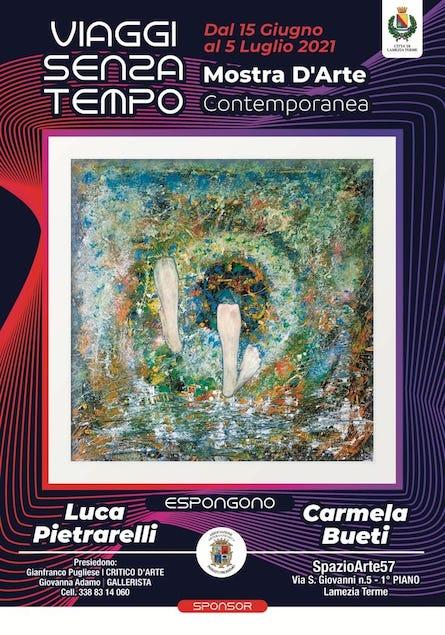 Lamezia, a SpazioArte57 la mostra d'arte astratta di Bueti e Pietrarelli