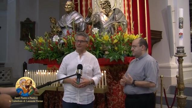 Lamezia con i suoi Santi Patroni sbarca su Padre Pio TV e canale Sky