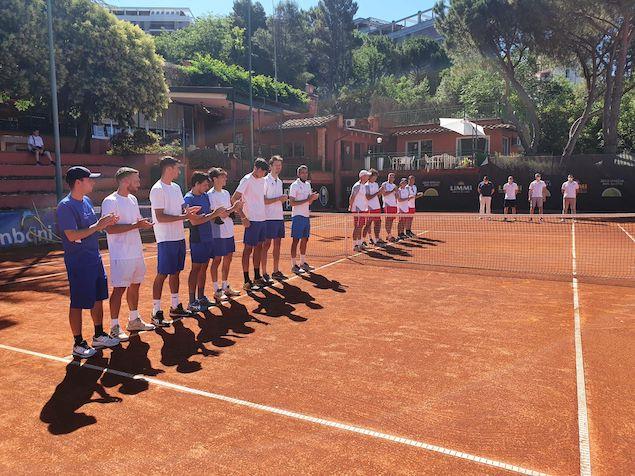 Play Off Serie B2 maschile: ottimo pareggio a Perugia per la Viola Tennis