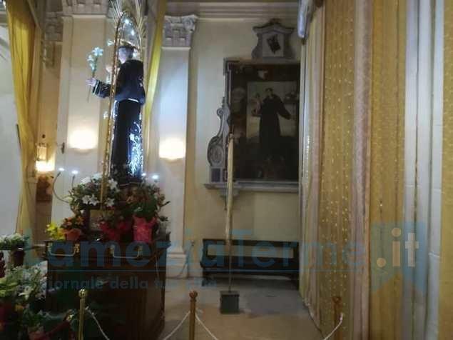 Cappella Sant'Antonio allestita in occasione della Tredicina