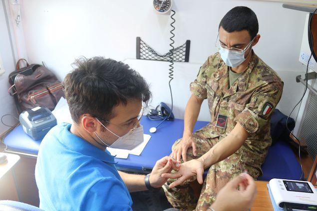 Esercito: donazione di sangue in Calabria
