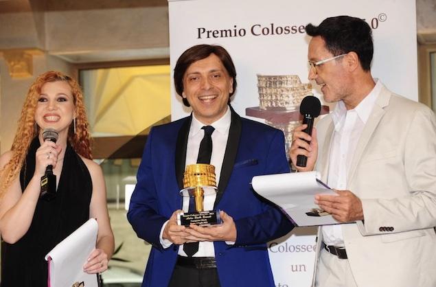 """Conferito ad Anton Giulio Grande il prestigioso """"Colosseo d'oro"""""""
