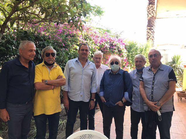 De Magistris incontra Comitato per il recupero della stazione ex FFSS di Catanzaro Sala