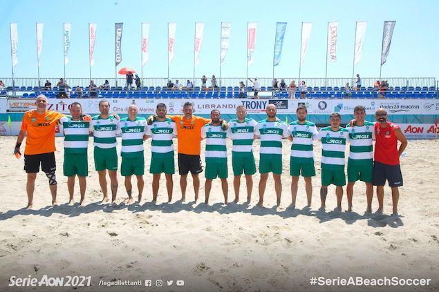 Una grandissima Lamezia Beach Soccer batte il Pisa BS