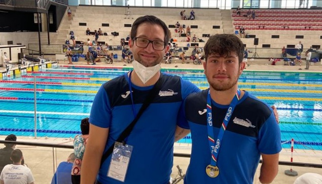 Nuoto Paralimpico. Bronzo per Gianvittorio Longo ai Campionati Italiani Assoluti