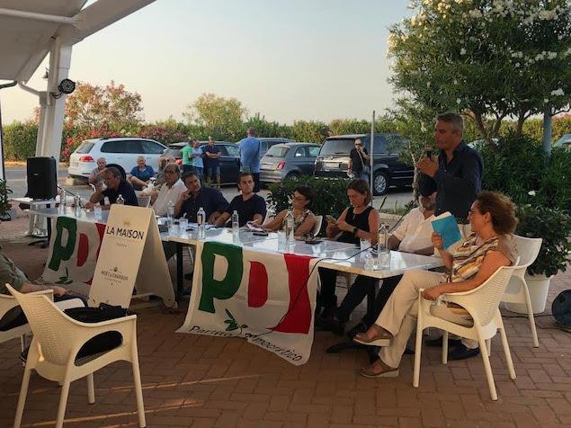 Il Pd manda un messaggio da Tropea, Tassone: cambiamento possibile