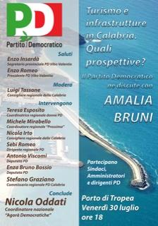 Turismo e infrastrutture, il Pd lancia da Tropea la sua proposta di sviluppo