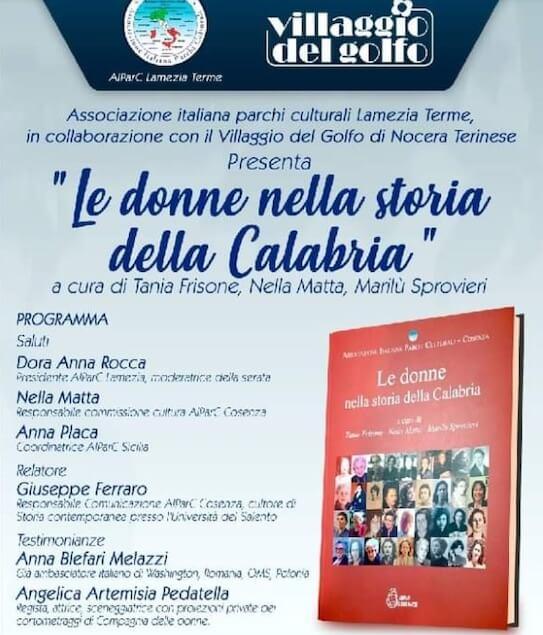 Il 12 agosto appuntamento con Donne nella storia della Calabria