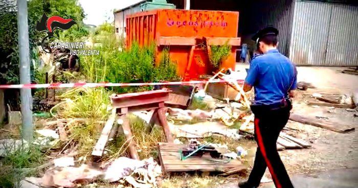 Ambiente: Vibo, sequestrata discarica abusiva rifiuti pericolosi