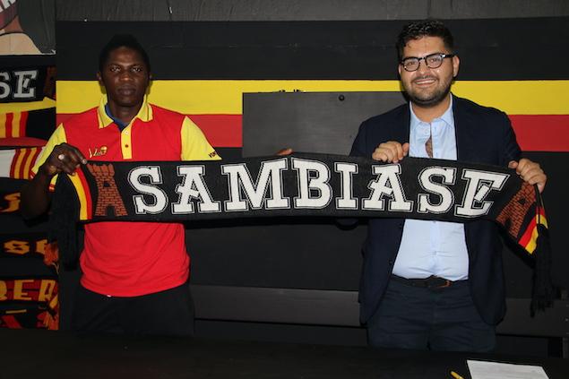 """ASD Sambiase Calcio 1923: il primo colpo è la """"conferma"""" di Diop"""