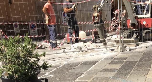 Catanzaro. Perche' si stanno demolendo le basole di Corso Mazzini?
