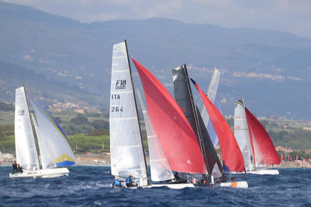 Concluso il campionato italiano assoluto di Formula 18 Catamarani