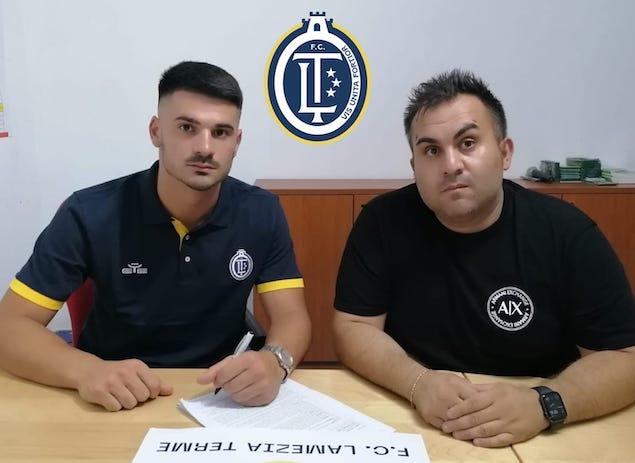 F.C. Lamezia Terme: acquistato il portiere Emanuele Gentile