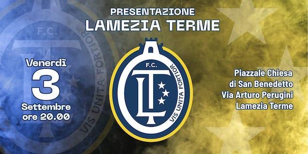 F.C. Lamezia Terme, venerdì 3 settembre la presentazione ufficiale