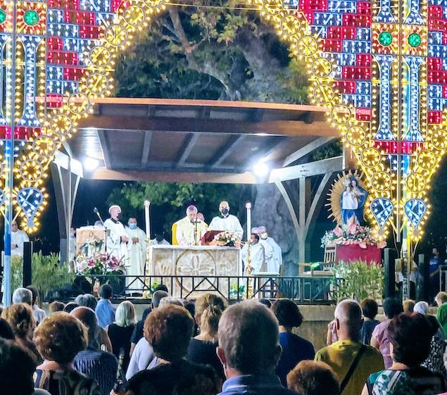 """Festa Madonna di Dipodi, Schillaci: """"guardiamo alle cose di lassù e impegniamoci su questa terra"""""""