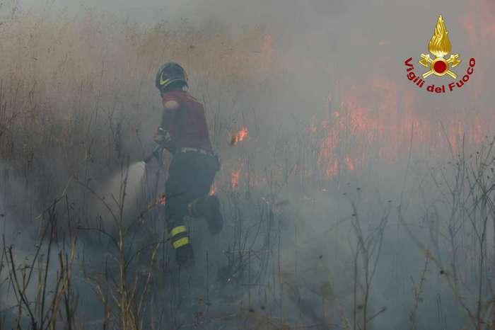 Incendi: ancora vittime in Calabria, morto 78enne