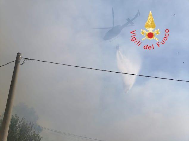 Incendi: incontro operativo dei Vigili del fuoco a Lamezia