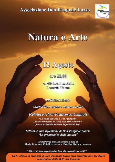 """Lamezia. Questa sera l'evento """"Natura e Arte"""""""