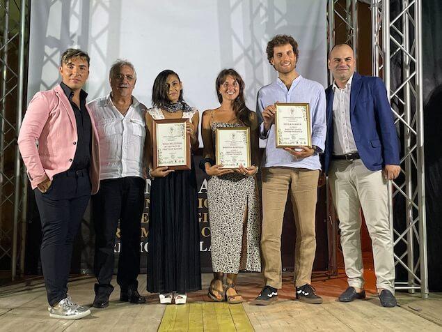 Nicola Giampà e Martina Bonfiglio premiati come Maestri d'arte Cinematografica