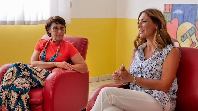 Pina Picierno con Amalia Bruni