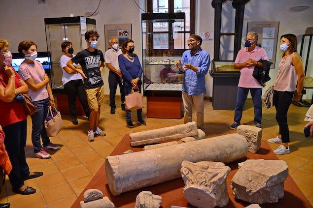 Associazione Le Città Visibili visita il Museo Archeologico Lametino