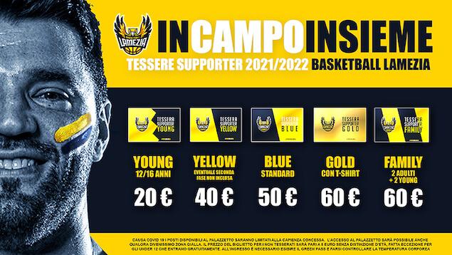Basketball Lamezia pronto per il prossimo campionato di Serie C Gold