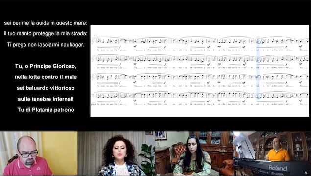 Coro Concordia Vox compone inno a San Michele Arcangelo, Patrono di Platania
