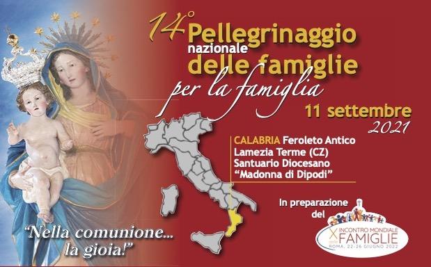 A Dipodi il 14° Pellegrinaggio Nazionale delle Famiglie per la Famiglia