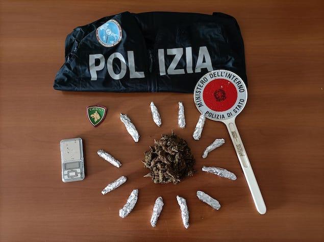 Fabrizia (VV). Una denuncia per detenzione e spaccio di droga