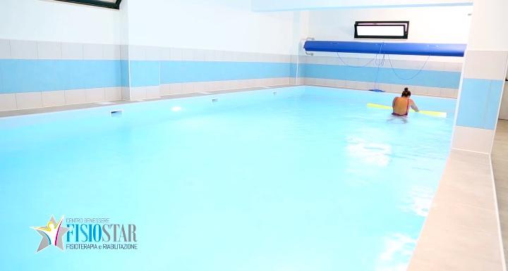 A Lamezia Terme una piscina idroterapica nella struttura 'Fisiostar'