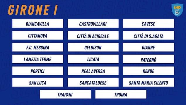 La Lega Serie D prende forma: ufficializzato il girone I