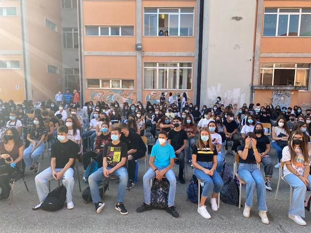 """Il Liceo Campanella avvia l'anno scolastico all'insegna della """"speranza e della rinascita"""""""