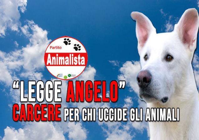 Partito Animalista: proposta di Legge Popolare riparte dalla statua del cane Angelo