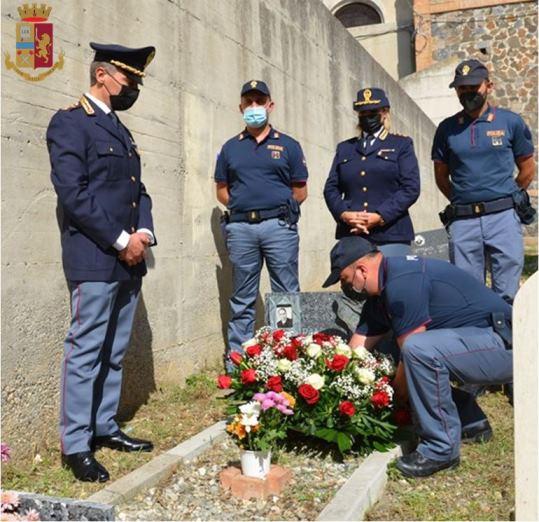 Polizia commemora l'Appuntato Vincenzo Panuccio, caduto in servizio