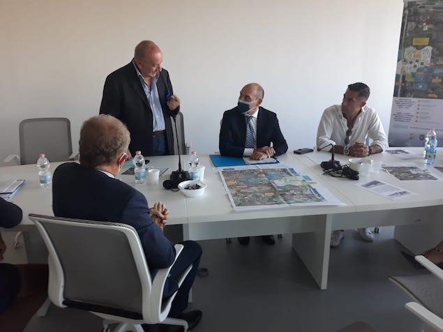 Porto Turistico e Opere Infrastrutturali SS18: incontro tra Lameziaeuropa e l'on. Morelli