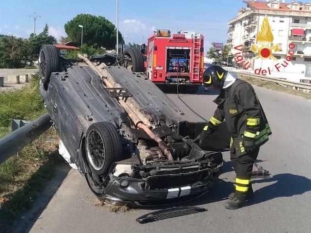Rende: incidente stradale sulla SP 241, quattro feriti