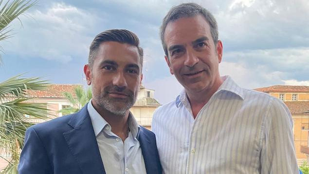Roberto Occhiuto e Domenico Furgiuele