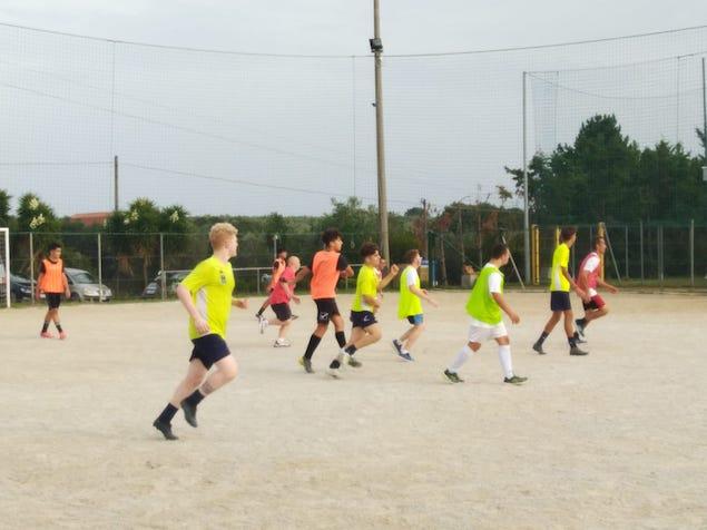 Tappa a Lamezia Terme della XXI edizione dell'European Football Week