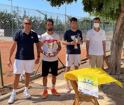 Viceconte e Veltri conquistano il III Torneo Nazionale Open Viola Tennis & Sports