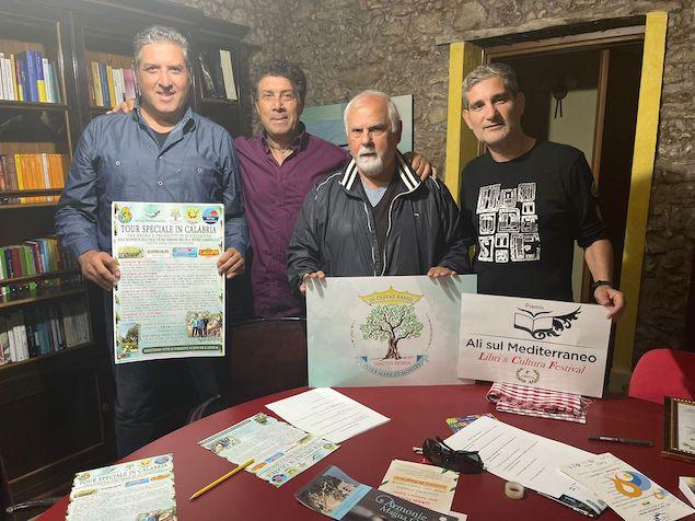 GLI ORGANIZZATORI Rocco e Franco Serratore, Bruno Giuliano e Nico Serratore